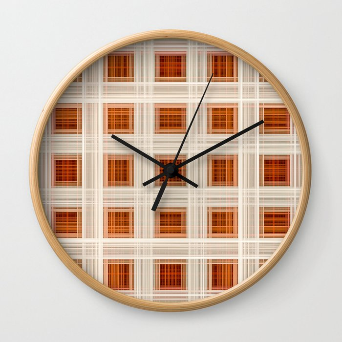 Ambient 11 Squares Wall Clock