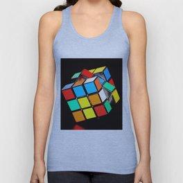 Cubic Cube Unisex Tank Top