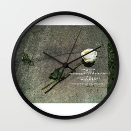 I like it, You don't, Who Cares Wall Clock