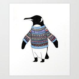 Penguin. Art Print