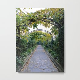 Walkway in Regent's Park Metal Print