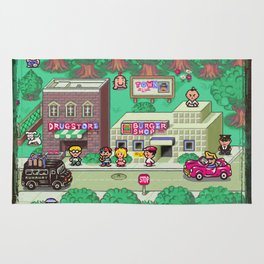 Earthbound town Rug