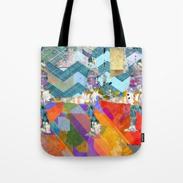 Three Unknowns Tote Bag