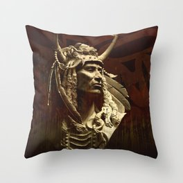 First peoples Power Throw Pillow