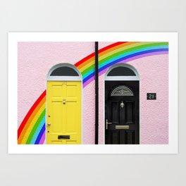 Neighbourly Love Art Print