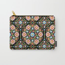 Millefiori Floral Carry-All Pouch