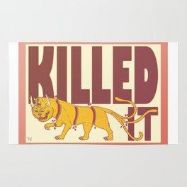 Killed It. Rug