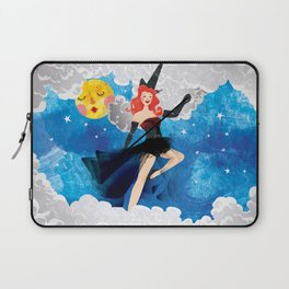 Witch Girl Laptop Sleeve