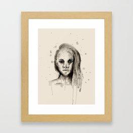 JV2 Framed Art Print