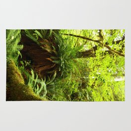 Rainforest Ferns Rug