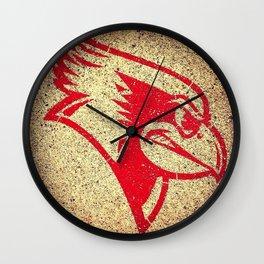 Illinois State University Redbirds Wall Clock