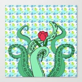 Swamp Bubbles Canvas Print