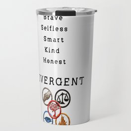 DIVERGENT - ALL FACTIONS Travel Mug