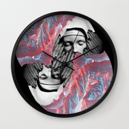To Lie In Cold Obstruction And To Rot Wall Clock