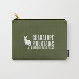 Deer: Guadalupe Mountains, Texas Carry-All Pouch