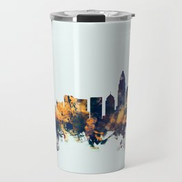 Charlotte North Carolina Skyline Travel Mug