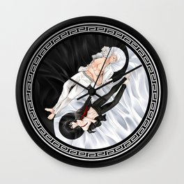 Yin Yang Sheith Wall Clock