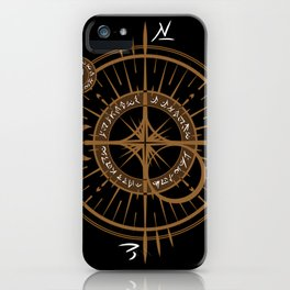 The Traveling Spell - Dark Side iPhone Case