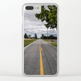Country Road Clear iPhone Case
