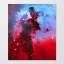 Eagle Nebula Stellar Spire Canvas Print