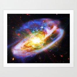 Atom~SuperGalaxy  Art Print