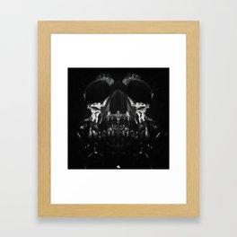 AfterTaste - The Skull Print Framed Art Print