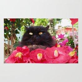 King of flowers  Pomponio Mela Rug