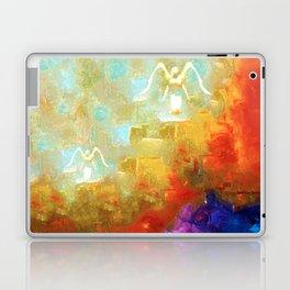 Angels Among Us - Emotive Spiritual Healing Art Laptop & iPad Skin