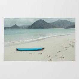 Lombok beach Rug