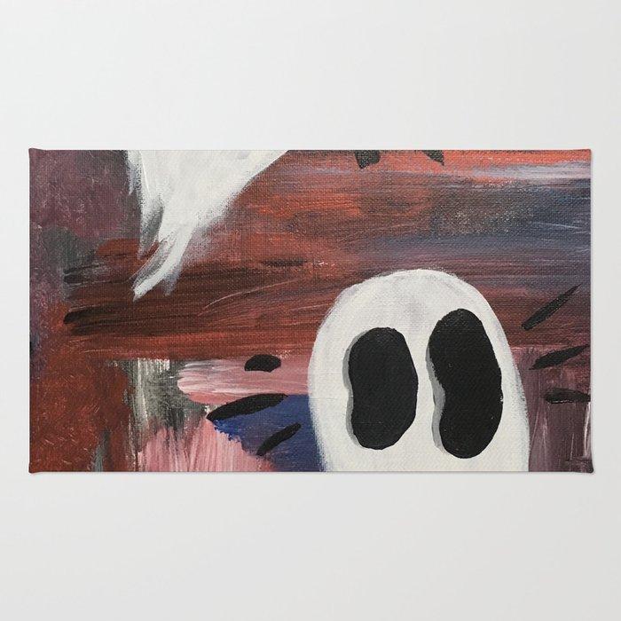Anxious Ghosties Rug