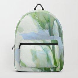 Painterly Lisianthus Backpack