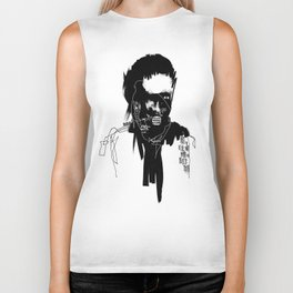 Art is a lie that makes us realize truth. Biker Tank