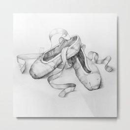 Ballet shoes Metal Print
