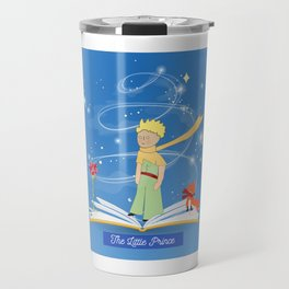 The Little Prince in the Fairy Tale Book Travel Mug