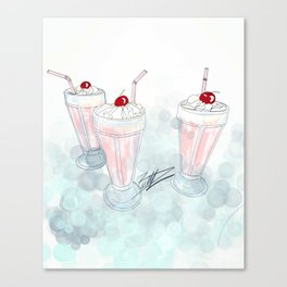 Pop's Diner Canvas Print