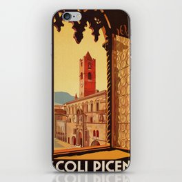 Old Ascoli Piceno iPhone Skin