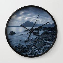 Elgol Beach Wall Clock