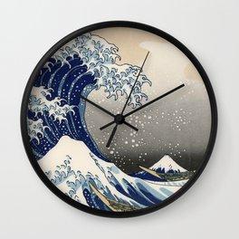 Kanagawa Wave Wall Clock