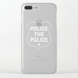 Police The Police Clear iPhone Case