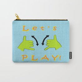 ASL Let's PLAY! Carry-All Pouch