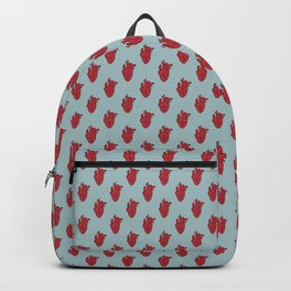 My Heart Beats for You - Blue Backpack