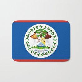 Belize country flag Bath Mat