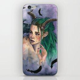 Queen of Crows iPhone Skin