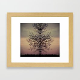 ghost veins Framed Art Print