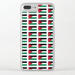 jordanie Clear iPhone Case