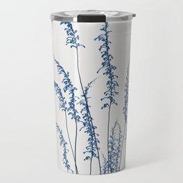 Blue flowers 2 Travel Mug