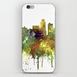 Los Angeles Skyline - Safari Buff iPhone Skin