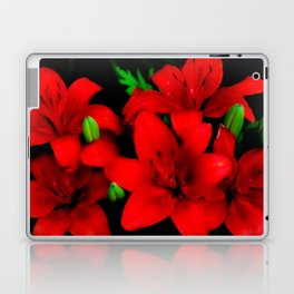 red lilies Laptop & iPad Skin