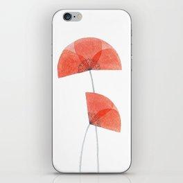Flanders poppy, corn poppy, flower iPhone Skin
