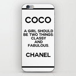 coco quote no. 4 iPhone Skin